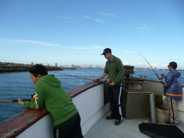 Deep sea fishing 2012 troop 693 for 22nd street landing fish report